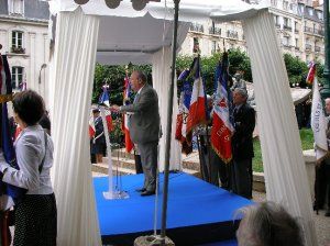 Allocution de Mr Richard PRASQUIER, président du CRIF