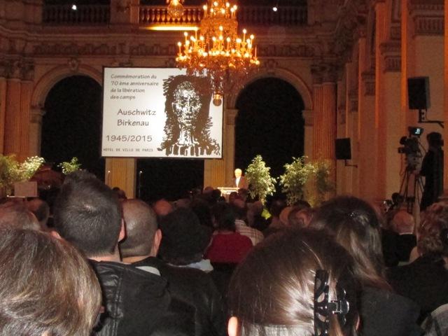 commémoration du 70ème anniversaire de la libération des camps d'Auschwitz-Birkenau (4/6)